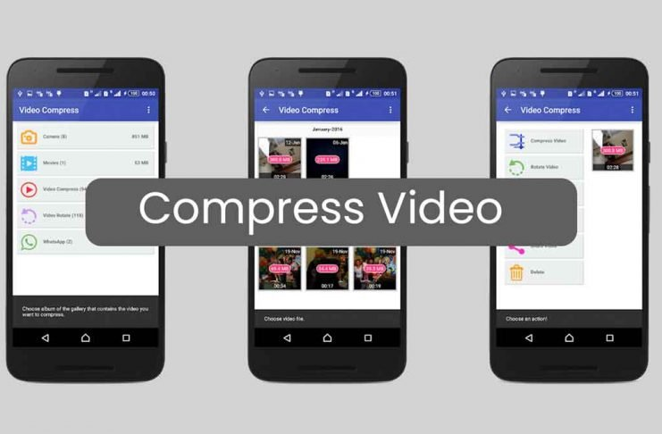 Compress Video Android